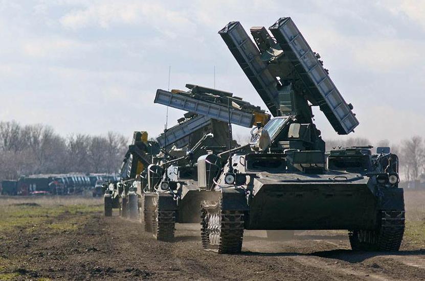 俄防空部队